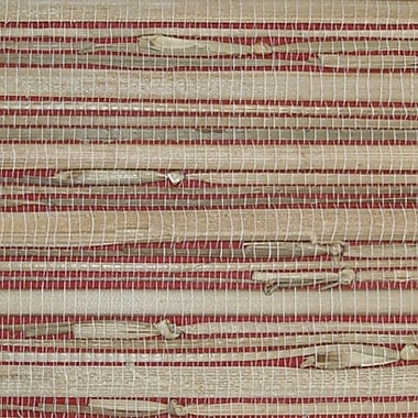 Inspired By Color™ Grasscloth Wallpaper, Red