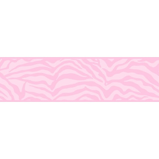 Inspired By Color™ Borders Zebra Border, Pink