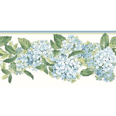 Inspired By Color™ Borders Hydrangea Border, White With Off White