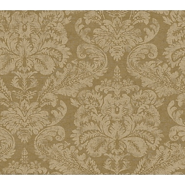 Inspired By Color™ Metallics Damask Tapestry Wallpaper, Beige