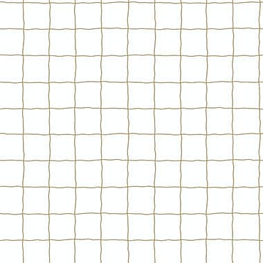 Inspired By Color™ Kids Soccer Net Sidewall Wallpaper, Linen White With Taupe