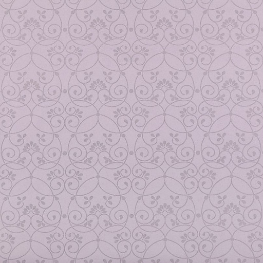 Inspired By Color™ Kids Glitter Scroll Wallpaper, Purple