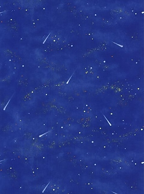 Inspired By Color™ Kids Galaxy Sidewall Wallpaper, Blue