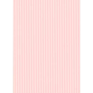 Inspired By Color™ Pink & Purple Awning Stripe Wallpaper, Pink