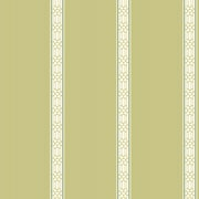 Inspired By Color™ Green Oriental Banding Stripe Wallpaper, Green With White