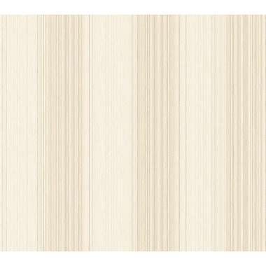 Inspired By Color™ Beige Multi Colored Textil Wallpaper, Beige With Cream