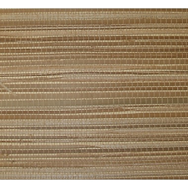Inspired By Color™ Grasscloth Tom Coloroth Wallpaper, Tan/Yellow