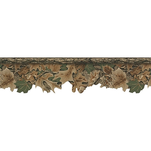 Inspired By Color™ Country & Lodge Realtree Camouflage Border, Green