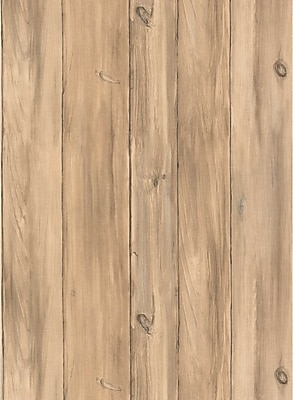 Inspired By Color™ Red Barnboards Wallpaper, Beige