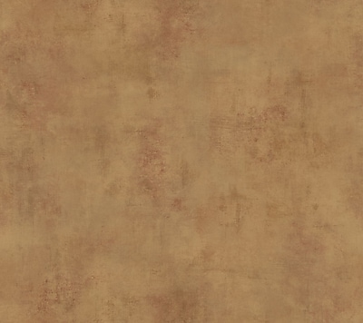 Inspired by Color™ Red Stucco Texture Wallpaper, Gold Metallic With Red Brown
