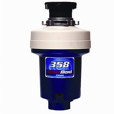 Waste Maid Heavy Duty 1/2 HP Continuous Feed Garbage Disposal