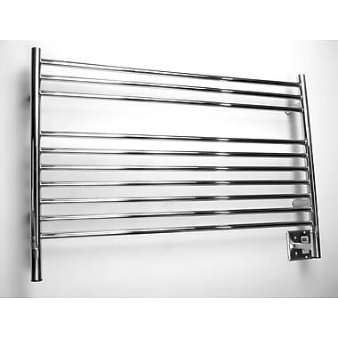 Amba Jeeves Wall Mount Electric L Straight Towel Warmer; Polished