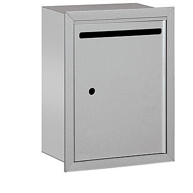 Salsbury Industries Aluminum 1 Unit Drop Box; Aluminum
