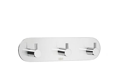 Smedbo Design Triple Self Adhesive Wall Mounted Hook