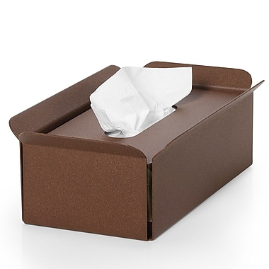 WS Bath Collections Complements Bandoni Free Standing Tissue Box Cover; Rust