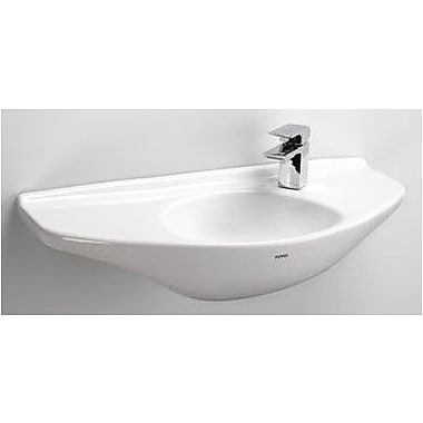 Toto Ceramic 30'' Wall Mount Bathroom Sink; Cotton