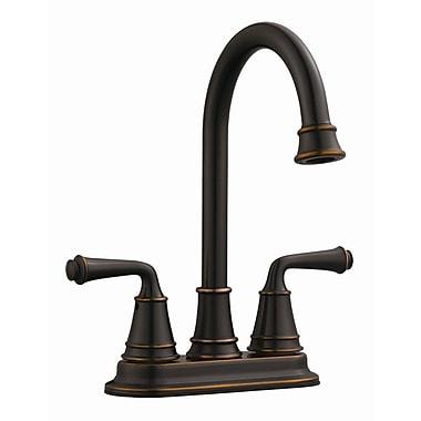Design House Eden Double Handle Bar Faucet; Oil Rubbed Bronze