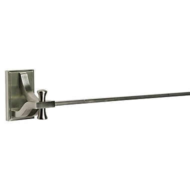 Design House Ironwood Wall Mounted Towel Bar; Satin Nickel