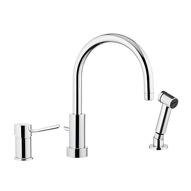 Remer by Nameek's Single Handle Kitchen Faucet w/ Side Spray