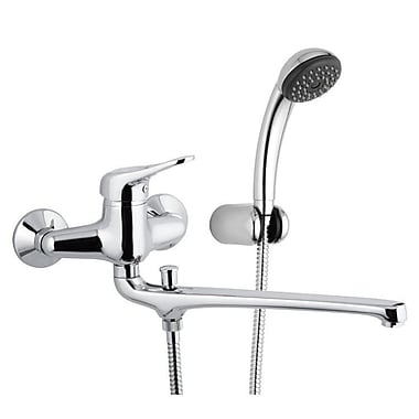 Remer by Nameek's Single Handle Wall Mounted Tub Filler Trim