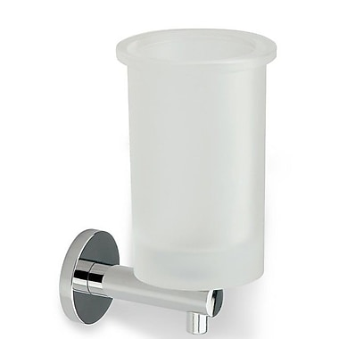 Stilhaus by Nameeks Venus Wall Mount Glass Toothbrush Holder
