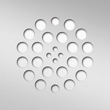 Tile Redi Square 4.25'' Grid Shower Drain