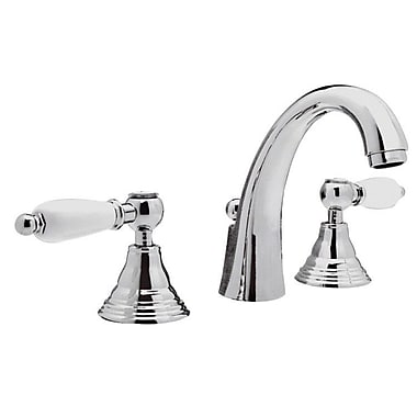 Remer by Nameek's Double Handle Deck Mounted Bathroom Sink Faucet