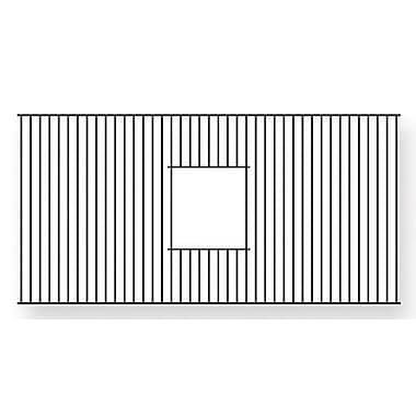Whitehaus Collection Farmhaus Fireclay 32'' x 14'' Rectangular Sink Grid; Stainless Steel