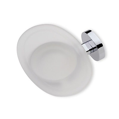 Stilhaus by Nameeks Diana Wall Mount Glass Soap Dish