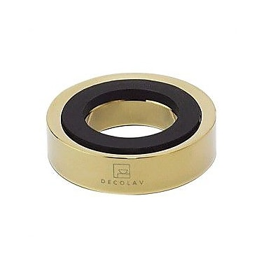 DecoLav Drains and Accessories Vessel Sink Mounting Ring; Polished Brass