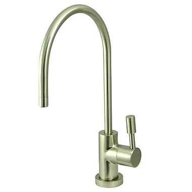 Elements of Design South Beach Single Handle Water Filtration Faucet; Satin Nickel