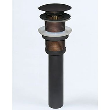 Ronbow 2.6'' Pop Up Bathroom Sink Drain; Oil Rubbed Bronze