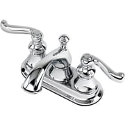 Estora Brescia Centerset Bathroom Faucet w/ Double Lever Handles; Chrome