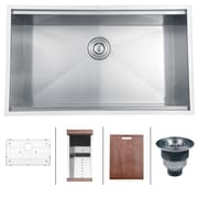Ruvati Roma 32'' x 19'' Undermount Kitchen Sink
