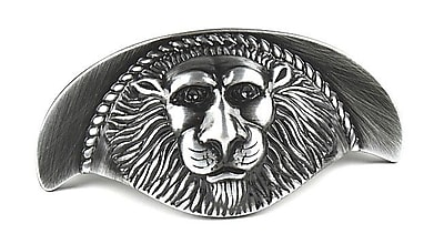 Century Hardware Roman Cup/Bin Pull; Antique Silver WYF078276492032