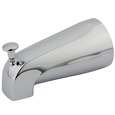 Elements of Design Wall Mount Tub Spout Trim Diverter; Chrome