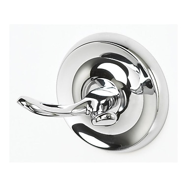 Aqueous Faucet Wall Mounted Robe Hook; Chrome