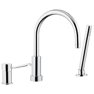 Remer by Nameek's Single Handle Deck Mounted Tub Filler Trim w/ Hand Shower