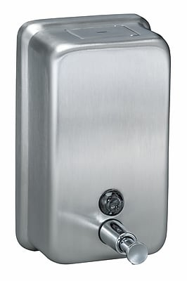 Bradley Corporation Surface-Mounted Vertical Soap Dispenser