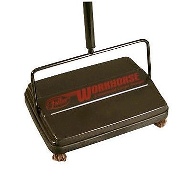 Franklin Cleaning Technology 46'' Workhorse Carpet Sweeper in Black