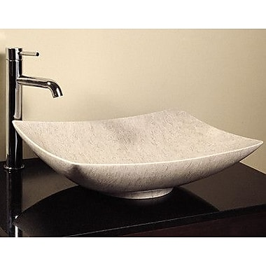 Avanity Rectangular Vessel Bathroom Sink