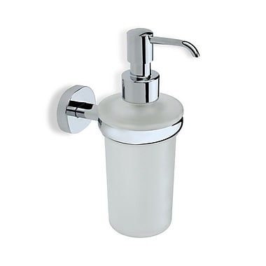 Stilhaus by Nameeks Diana Wall Mount Glass Soap Dispenser