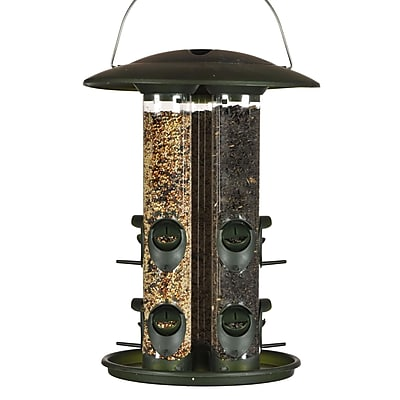 Birdscapes Safari Triple Tube Bird Feeder (WYF078276503591) photo