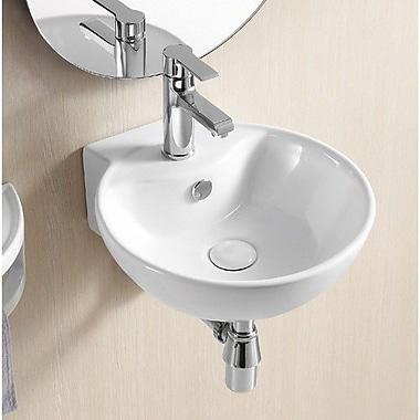 Caracalla Ceramica II 16'' Wall Mounted Bathroom Sink w/ Overflow