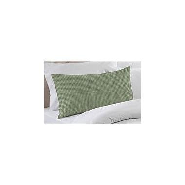 Patch Magic Green Mint and White Gingham Checks Pillow Sham