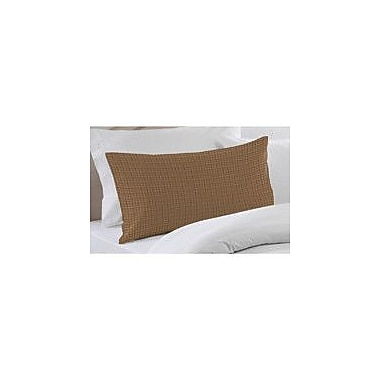 Patch Magic Brown Light Checks Pillow Sham