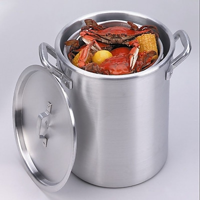 King Kooker Stock Pot and Basket w/