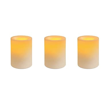 Inglow Cream, Vanilla Scented Flameless Candles 4