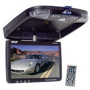 "Pyle® PLRD92 9"" Flip Down Roof Mount Monitor & Multimedia Disc Player With FM Module/IR Transmitter"