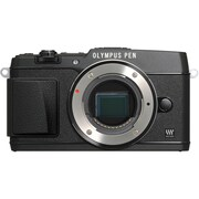 Olympus E-P5 16 MP Digital Camera, Black, (11196752)